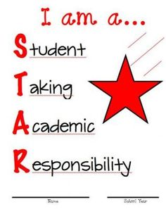 Binder Cover Red Star from No Monkey Business on TeachersNotebook.com -  (1 page)