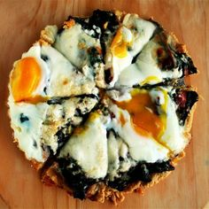 The toppings on this Swiss chard tart include sautéed chard with garlic, grated cheese, and a couple of eggs — a combination I really adore, in a buttery, cornmeal tart shell. It NEVER fails to please. Other Recipes, Real Food Recipes, Vegetarian Recipes, Yummy Food, Tasty, Swiss Chard Recipes, Grilled Pizza, Pizza Pizza, Savory Tart