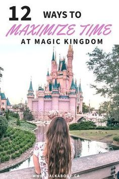 Walt Disney world is one of the busiest places in the world. When you visit you will want to be able to get the most out of your Disney days. These 12 tips to help maximize time at Magic Kingdom can actually make your day SO MUCH BETTER! Don't forget to s Disney World Resorts, Disney World Trip, Disney Vacations, Disney Parks, Disney Travel, Disney Bound, Disney Honeymoon, Orlando Disney, Disney Worlds