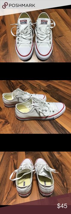 Converse All Star (Unisex) (Mens 6) (Womens 8) Worn only 2 times. Like new! (Mens Size 6) (Womens Size 8). Bought it from Kohls. I threw the box sorry. Make me a reasonable offer and will see. Thanks! Converse Shoes Sneakers