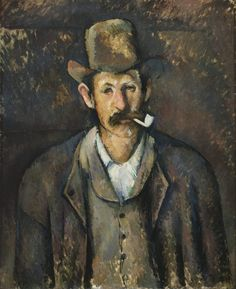 Image result for portrait paul cezanne