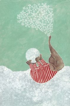 'First Snow' / 'Ensilumi' by Reetta Isotupa-Siltanen
