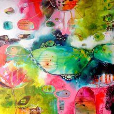 Tracy Verdugo「Dancing on the Edge of Sublime」 Art Abstrait, Heart Art, Acrylic Art, Painting Inspiration, Bunt, Modern Art, Abstract Art, Illustration Art, Creations