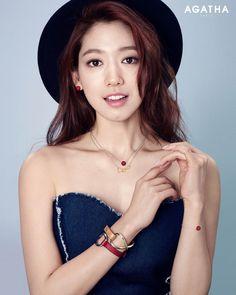 Park Shin Hye - Agatha Paris 2016 - Korean Magazine Lovers
