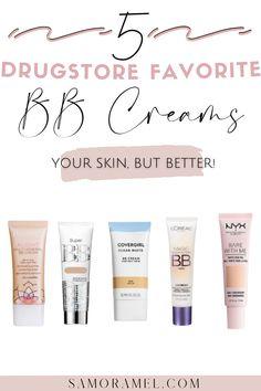 Beauty Blogs, Beauty Ideas, Diy Beauty, Beauty Tips, Beauty Hacks, Drugstore Bb Cream, Minimal Makeup Look, Best Bronzer, Bb Creams
