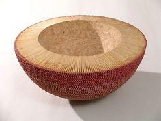 Stunning art pieces made from red matchsticks