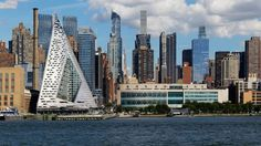 Piramideachtige wolkenkrabber wint Internationalen Hochhauspreis 2016