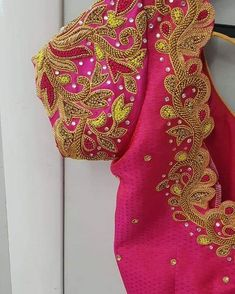 Latest Bridal Blouse Designs, Unique Modern Designs, 5 Years of Experience, All Embroidery Works, Best Price in Coimbatore & Tirupur. Wedding Saree Blouse Designs, Pattu Saree Blouse Designs, Blouse Designs Silk, Designer Blouse Patterns, Peacock Blouse Designs, Blouse Designs Catalogue, Simple Blouse Designs, Stylish Blouse Design, Hand Work Blouse Design