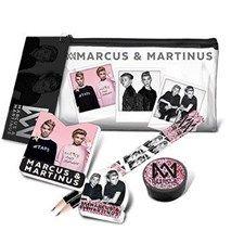 Fyllt transparant pennskrin, Marcus & Martinus