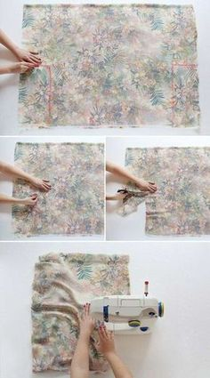 How to make a kimono jacket in 30 minutes - trend summer 2015 Coin Couture, Couture Sewing, Sewing Machine Projects, Sewing Projects For Beginners, Sewing Clothes, Diy Clothes, Diy Vetement, Wie Macht Man, Couture Outfits