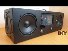 Never need to worry about its quality Slot-in type CD reading. HiFi sound quality with 4 speakers. Bluetooth s. Diy Bluetooth Speaker, Diy Speakers, Speaker Wire, Ford Gt, Radios, Diy Boombox, Android Radio, Car Audio Installation, Speaker Box Design