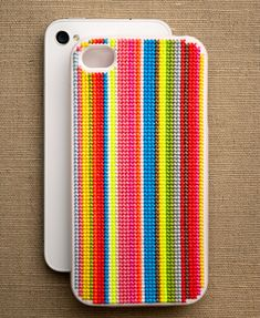 Sweet Stitching with Erin: Cross-Stitch iPhone Cases