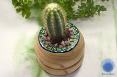 Today's post, is about my newest creation 'Wooden Cactus Pot' You can find it over on my shop (and other such colourful creations) here: https://www.etsy.com/uk/shop/RiversRunArt?ref=hdr_shop_menu
