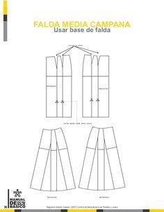 Manual de patronaje CMT - SENA Pattern Making Books, Pattern Books, Pattern Drafting Tutorials, Sewing Patterns, Jacket Pattern, Diy Fashion, Charts, Album, How To Make