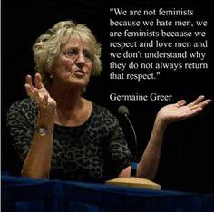 Feminst Germaine Greer