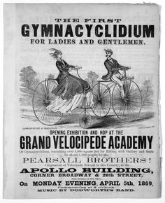 The First Gymnacyclidium for Ladies and Gentlemen - Retronaut