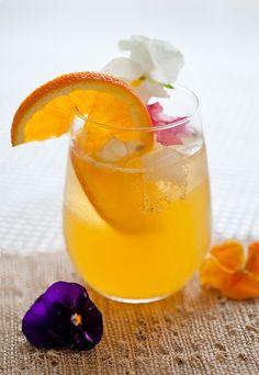 Honey Orange Blossom Cocktail via The Artful Gourmet