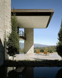 Sonoma Vineyard Residence by Aidlin Darling.     I've been to this house and it and its surroundings are indeed stunning.