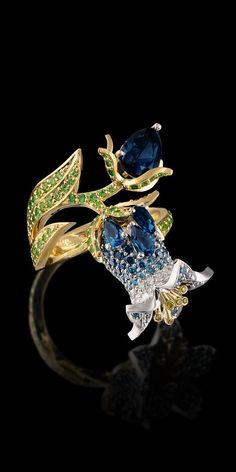 Master Exclusive Jewellery - Diamond Flowers - Bluebell
