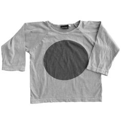 Hipkin - Zuttion Long Sleeve Circle Raglan Tee - restocked - limited sizes
