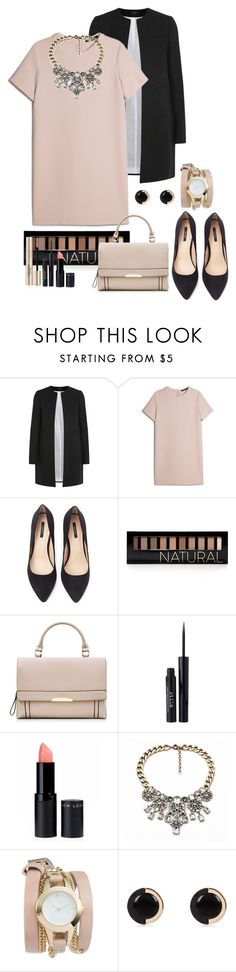 """""""Natural"""" by maevaxstyle ❤ liked on Polyvore featuring Joseph, MANGO, Forever 21, Stila, ZALORA and River Island"""