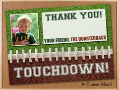Hey, I found this really awesome Etsy listing at http://www.etsy.com/listing/107135191/football-thank-you-card-printable-or