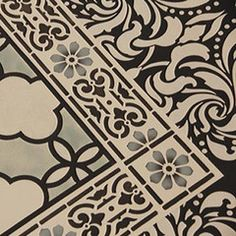 Classical Border & Corner Stencil by Royal Design Studios    Beautiful for so many applications!