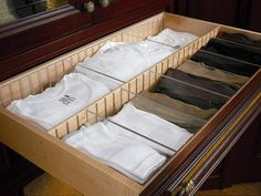 Love this organizer for His drawers