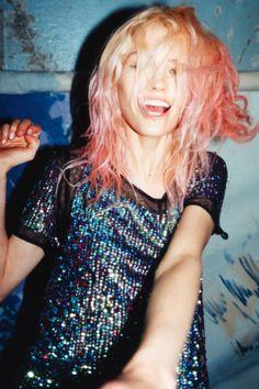 asos charolette_free grunge grunge_fashion grunge_style model pink_hair soft_grunge mine