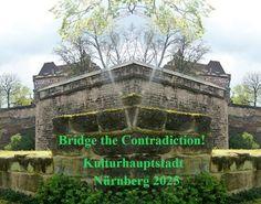 'Bridge the Contradiction! Nürnberg 2025 XXVI' von Martin Blättner bei artflakes.com als Poster oder Kunstdruck $15.77