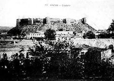 Bir zamanlar Gaziantep kalesi.