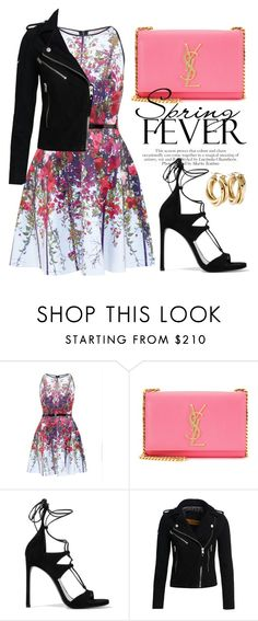 """""""Apr 7th (tfp) 1285"""" by boxthoughts ❤ liked on Polyvore featuring Ted Baker, Yves Saint Laurent, Stuart Weitzman, Superdry and tfp"""