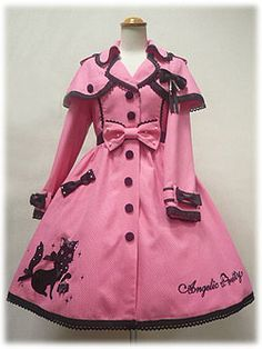 Angelic Pretty - Odekake Chocolat-chan Trenchcoat