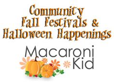 Columbus Fall Festivals and Halloween Happenings, as well as some Ohio fun spots for the fall.  Events listed by date so you can plan. {2013 edition}