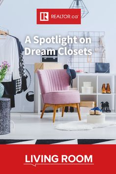 We've pulled together some of our favourite dream closet designs to get you inspired for your next wardrobe remodel. Check them out on REALTOR.ca Living Room. #closetstorage #closetdesign #dreamcloset #customcloset #closets #wardrobes #homedesign #homedecor #interiordesign