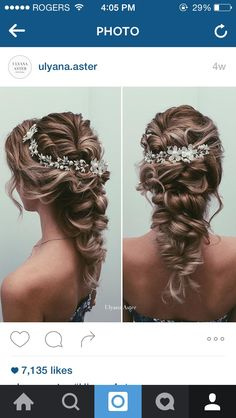 Check out her instgram for awesome wedding hair! IG: ulyana.aster