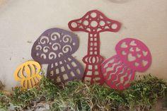champignons (patron à imprimer)