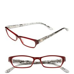 I Line Eyewear 'Lace' 50mm Reading Glasses ($58) ❤ liked on Polyvore featuring accessories, eyewear, eyeglasses, lace, lens glasses, retro eyeglasses, lightweight reading glasses, reading glasses and retro glasses