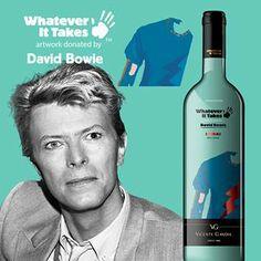 """""""David Bowie"""" Shiraz red wine on www.wineonlineforyou.com"""