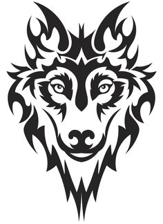 Vector image of wolf tattoo - Vector image of wolf tattoo Estás en el lugar correcto para healthy desserts Aquí presentamos heal - Tribal Animal Tattoos, Tribal Drawings, Tribal Wolf Tattoo, Tribal Animals, Tribal Sleeve Tattoos, Art Drawings, Geometric Tattoos, Wolf Tattoos, Celtic Tattoos