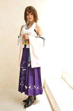 perfect yuna cosplay ffx ffx-2 best i have seen