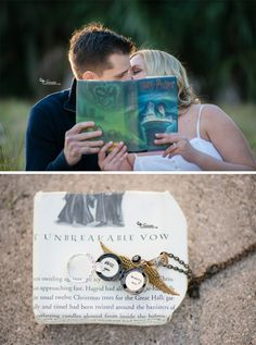 Harry Potter Engagement Session » Sivan Photography