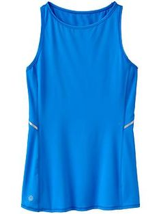 Luster Tank - The run tank with a lustrous personality features reflective detailing.