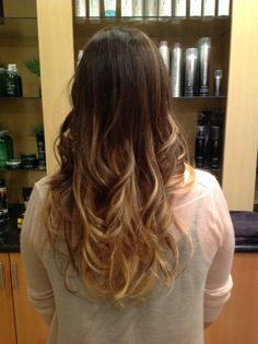 Beautiful ombré done by One of our senior stylists Daniel Wooley