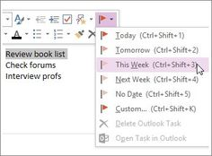 Turn notes into calendar items