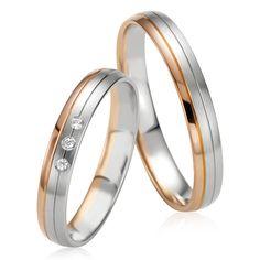 Le couple Alphonsine & Poline est un duo d'alliances en or blanc et or rose. Le modèle Alphonsine est ornée de 3 diamants blancs. Découvrez les modèles sur notre site Internet: http://www.zeina-alliances.com/alliance-duo/3751-duo-alphonsine-poline.html