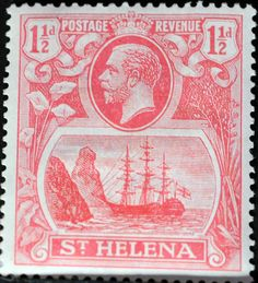 St. Helena (16) 1923 -1937 King George V and Ships