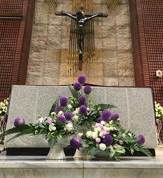 플라워경진대회에 대한 이미지 검색결과 Altar Flowers, Church Flower Arrangements, Church Flowers, Floral Arrangements, Special Events, Centerpieces, Wreaths, Candles, Rose