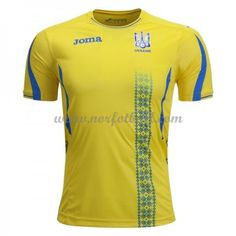The official Ukraine home jersey for the season from Joma. &ltBR>&ltBR&gtYellow jersey with blue accents on collar, sleeves and on the sides of the shirt. Blue Accents, Ukraine, 18th, Soccer, Sleeves, Mens Tops, Shirts, Products, Fashion