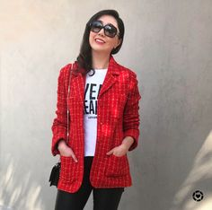 When in doubt wear red blazer ! http://liketk.it/2tKNw #LTKholidaywishlist #LTKunder100 #LTKunder50 #LTKstyletip #liketkit @liketoknow.it @liketoknow.it.family @liketoknow.it.europe Shop my daily looks by following me in the LIKEtoKNOW.it app  #LTKfit